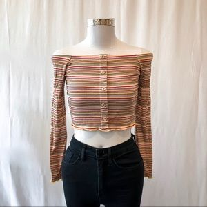 NWT Polly & Esther for Rue 21 OTS top